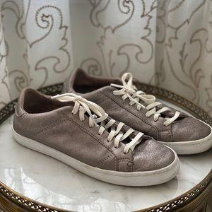 Cole Haan metallic shoes